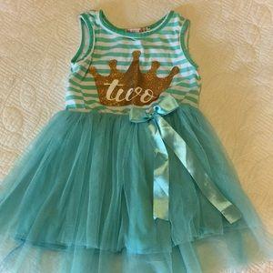 "Other - Baby girl ""2"" Birthday dress"
